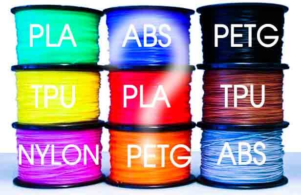 Pla Vs Abs Vs Petg Vs Tpu