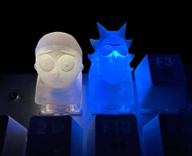 How To 3d Print Keycaps